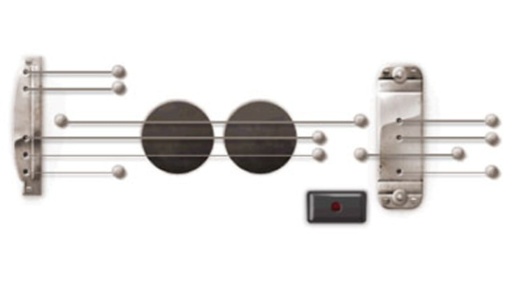 Google Pays Tribute to Les Paul With Interactive Logo