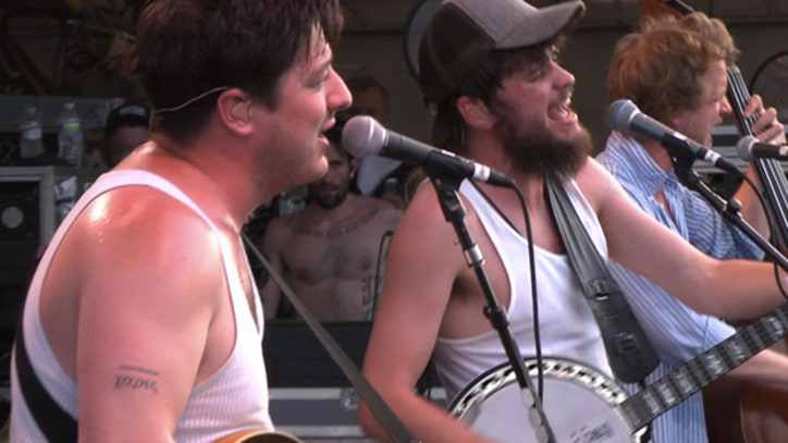 Mumford and Sons Preview New LP at Bonnaroo