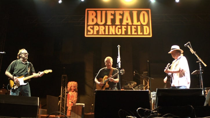 Buffalo Springfield Backstage at Bonnaroo