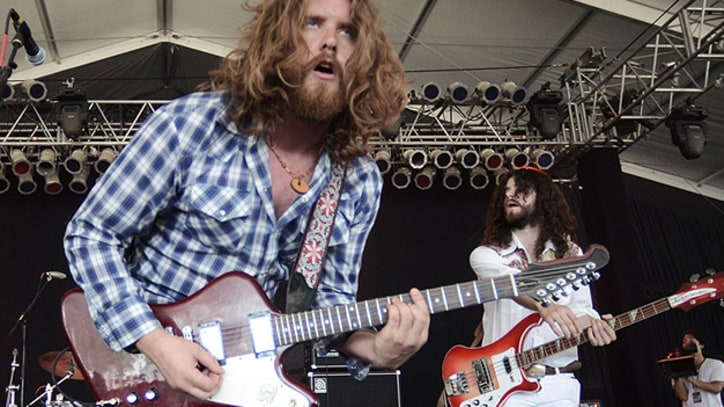 The Sheepdogs Drink, Rock and Rile Up Bonnaroo Crowd