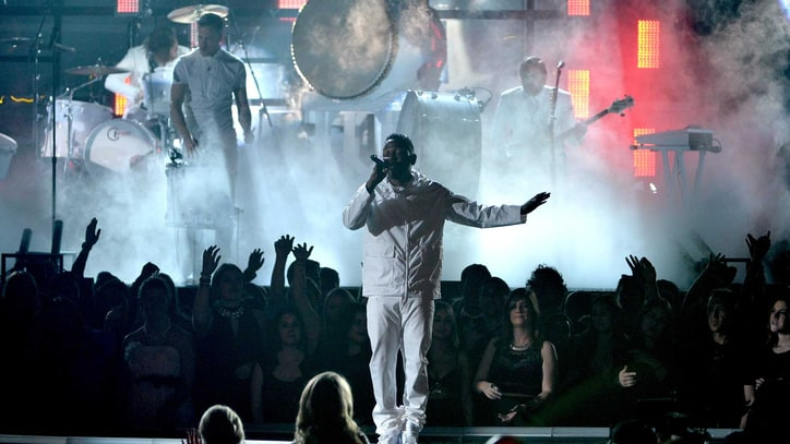 Kendrick Lamar, Imagine Dragons Stun With 'Radioactive' Grammy Collab