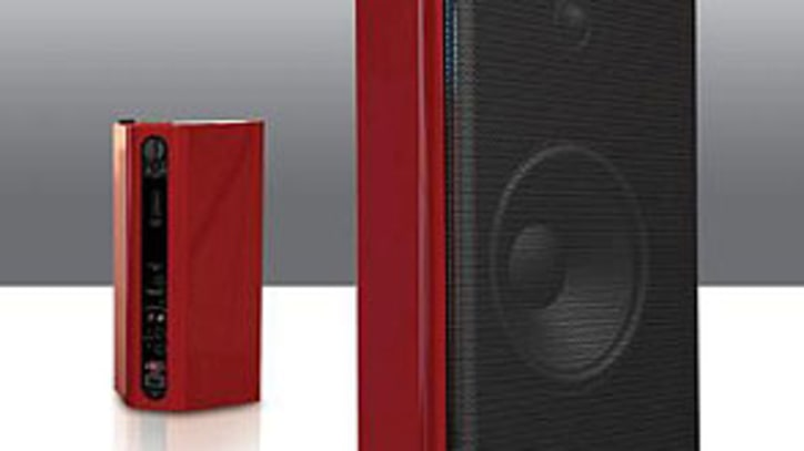Top Toy: Candy-Painted Loudspeakers Rock the House