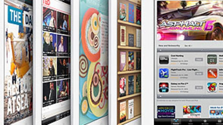 Apple iPad Rockets Past 100,000 Downloadable Apps