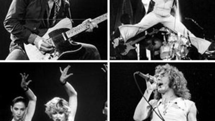 Weekend Rock Question: What is the Best Live Act of All Time?