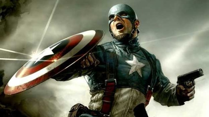 'Captain America': Great Hero, Standard Issue Action