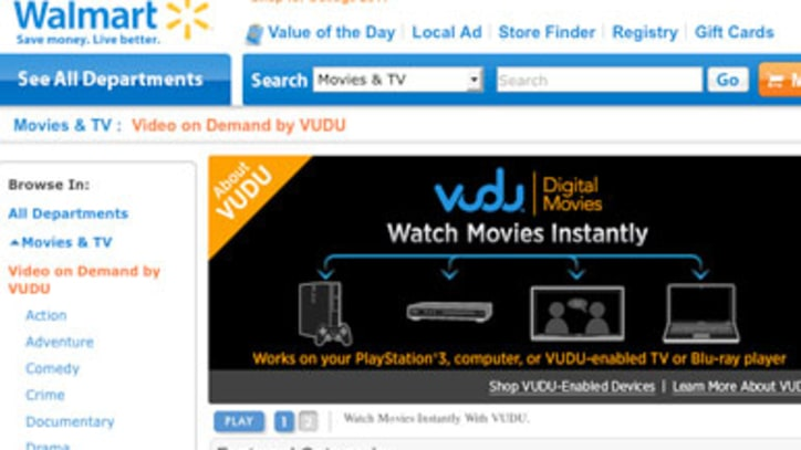 Wal-Mart Website Gets Online Movie, Video Streaming