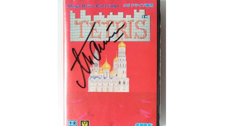 Game On: Signed Copy of Tetris Selling for $1 Million