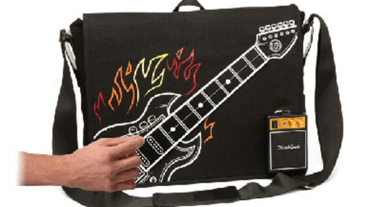 Top Toy: Playable Electric Guitar Messenger Bag