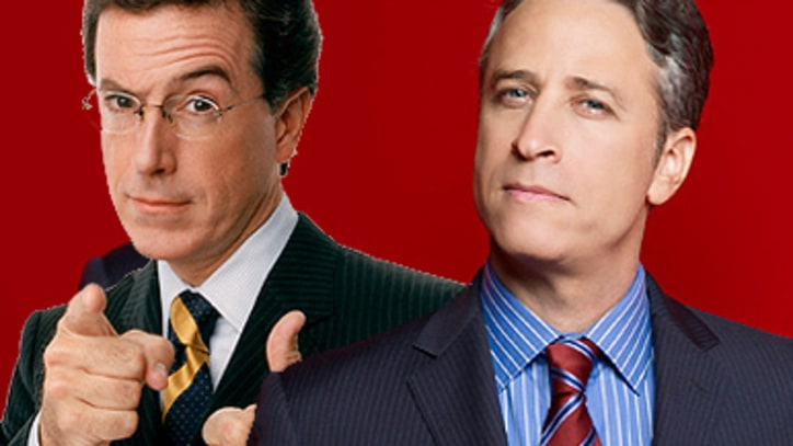 Watch Stewart and Colbert Hammer the Debt Deal
