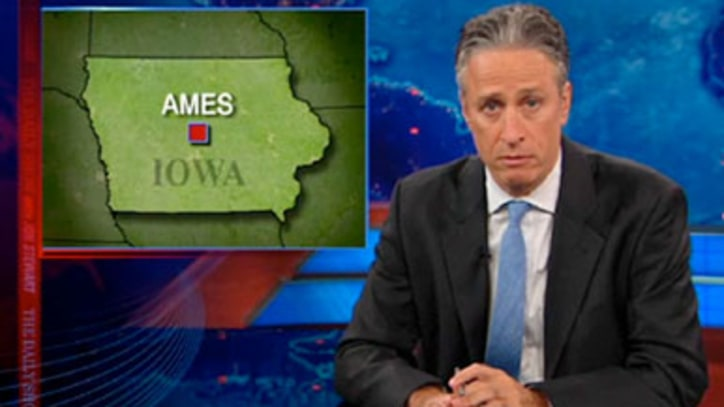 Jon Stewart on Iowa Straw Poll-Alooza