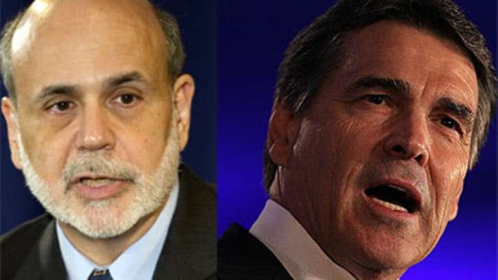 Rick Perry vs. Ben Bernanke: Round One