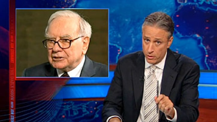 Jon Stewart on 'Socialist' Warren Buffett