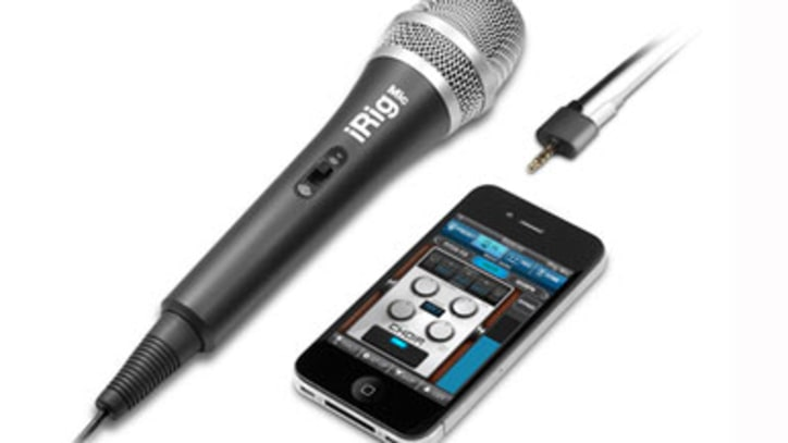 Top Toy: Handheld Microphone for iPhone, iPad