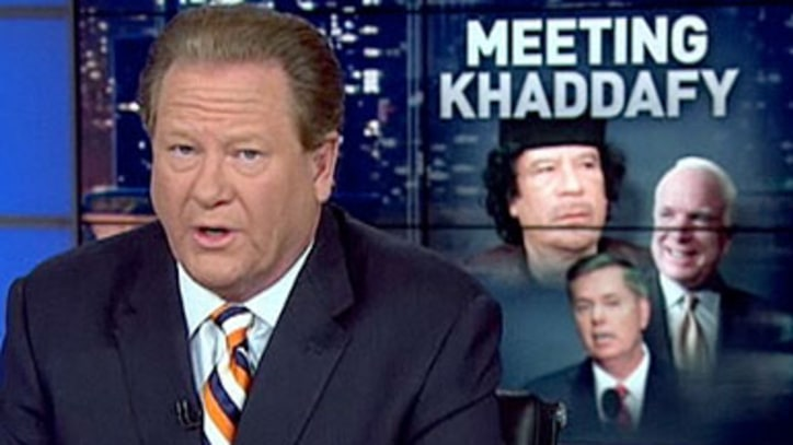 Why Were Sens. Lieberman, Graham and McCain Palling Around With Qaddafi?