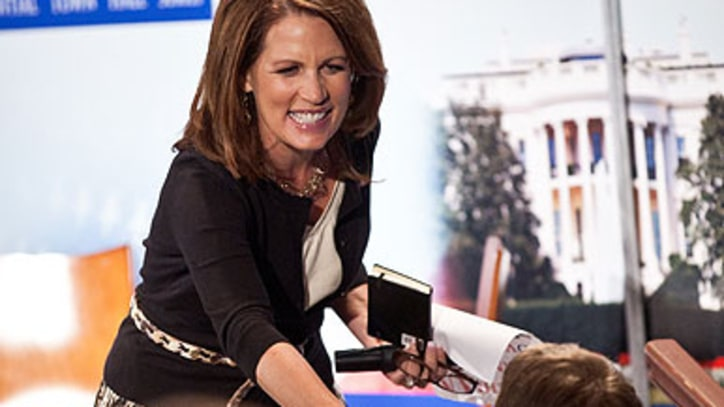God on Bachmann's Irene 'Joke': 'I'm Disappointed in You'