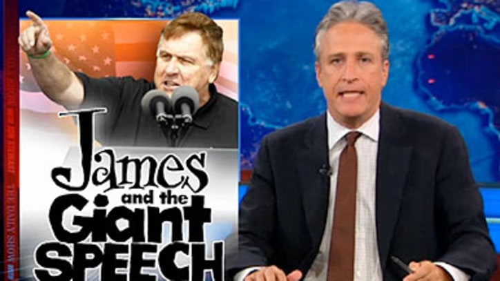Jon Stewart on the Political Rally Weapon of the Future