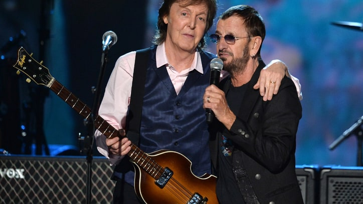 McCartney and Starr Team Again as Eurythmics, Grohl Honor the Beatles