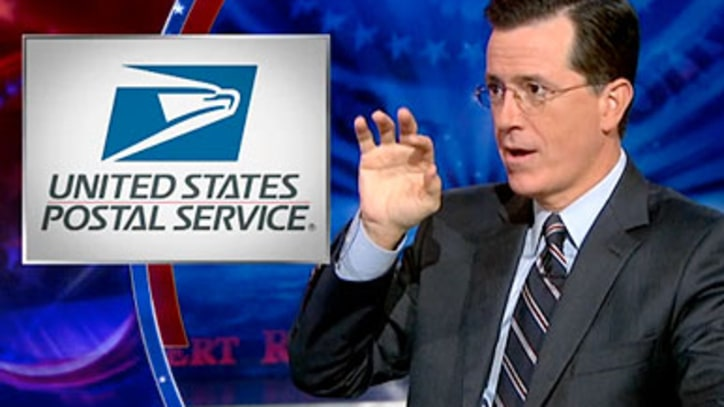 Stephen Colbert's Farewell to the Post Office