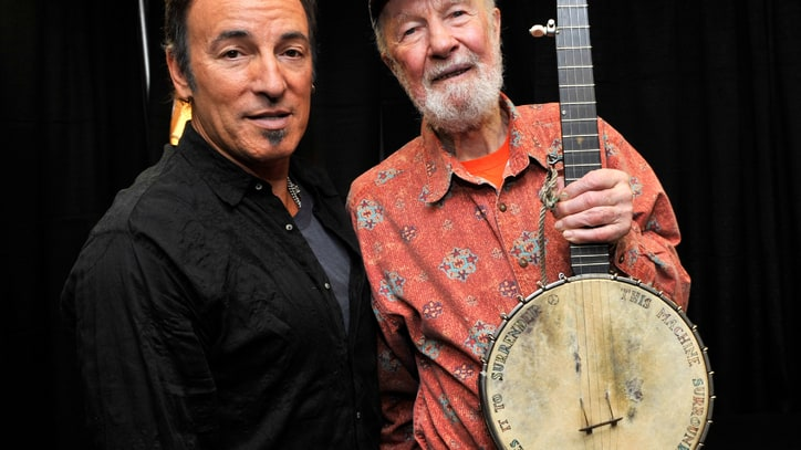 Watch Bruce Springsteen's Moving Birthday Tribute to Pete Seeger
