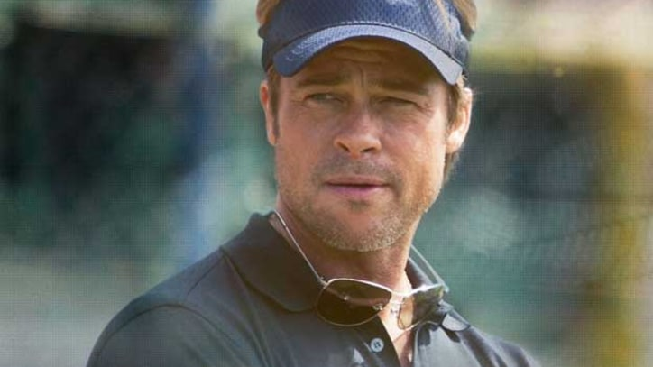 Brad Pitt Makes Baseball Stats Exciting in 'Moneyball'