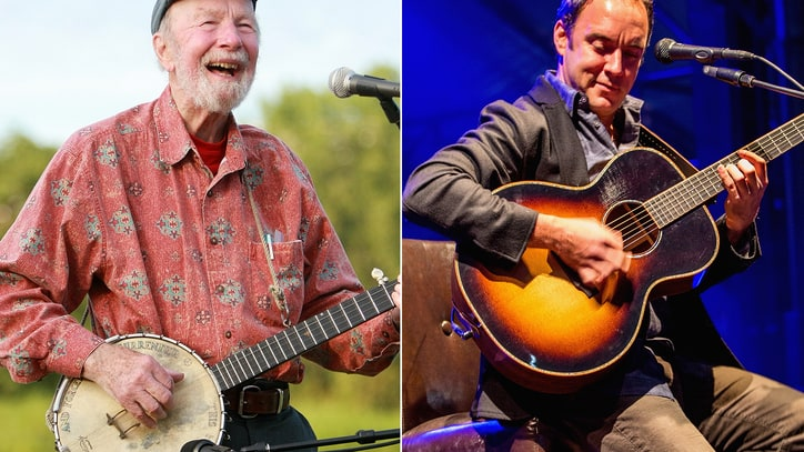 Dave Matthews on Pete Seeger: 'He Made Me Want to Be a Better Person'
