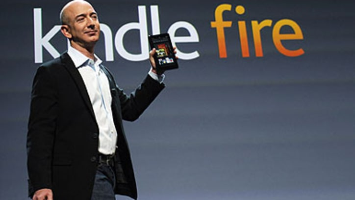 Amazon Unveils Kindle Fire