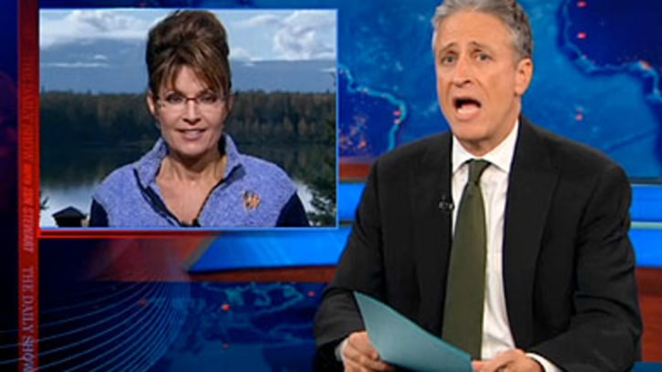 Jon Stewart on Palin's Presidential Intentions
