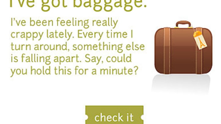 Emotional Bag Check: New Site Provides Pop Therapy
