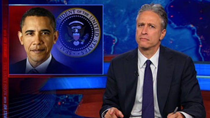 Jon Stewart on the NRA's Obama Conspiracy Theory