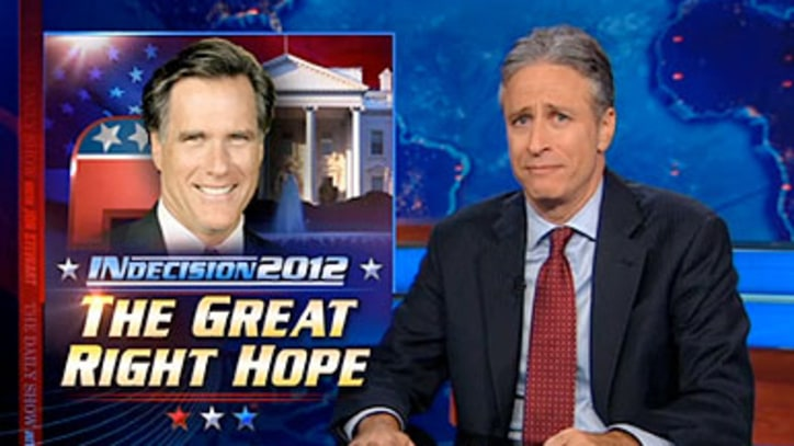 Jon Stewart on Mitt Romney's Biggest Problem