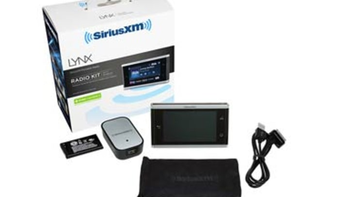 Best Buy Leaks Lynx, Sirius XM's New Touch Screen Receiver
