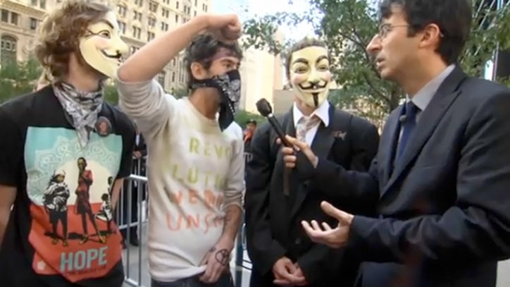 'Daily Show' on Occupy Wall Street