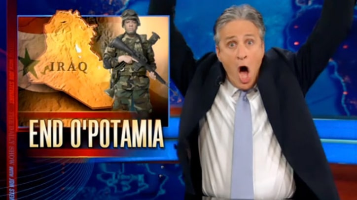 Jon Stewart on GOP Hawks' Empty Nest Syndrome