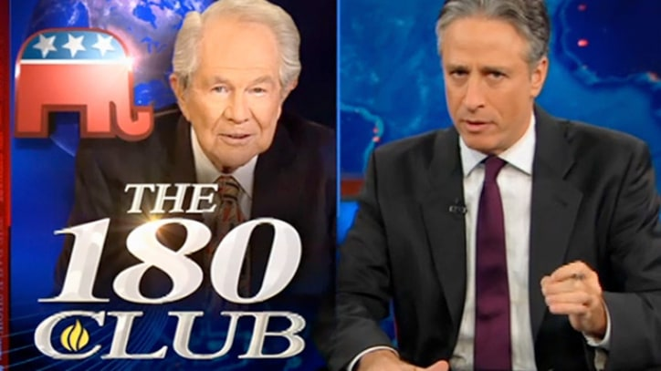 Jon Stewart on Pat Robertson and GOP Craziness