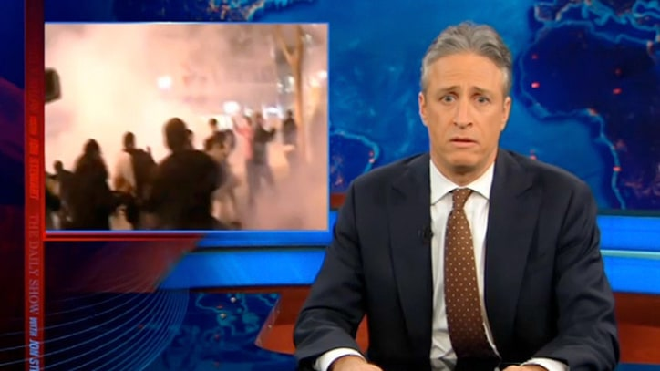 Jon Stewart on the OWS Oakland Crackdown