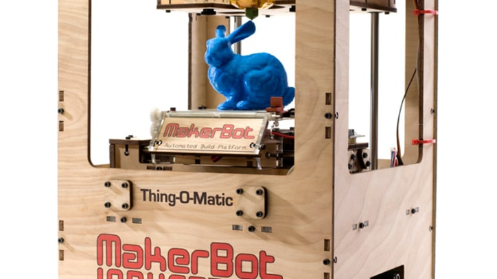 Makerbot's Thing-O-Matic 3D Printers Turn Ideas Into Reality