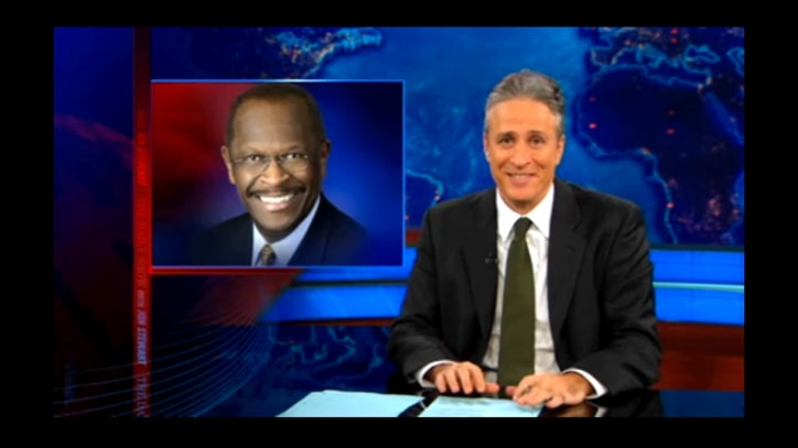 Jon Stewart on Herman Cain's Sex Scandal