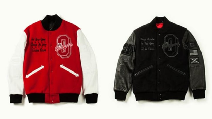 Drake's O.V.O. x Roots 'Take Care' Jacket Made From Virgin Wool, Organic Buffalo Hide