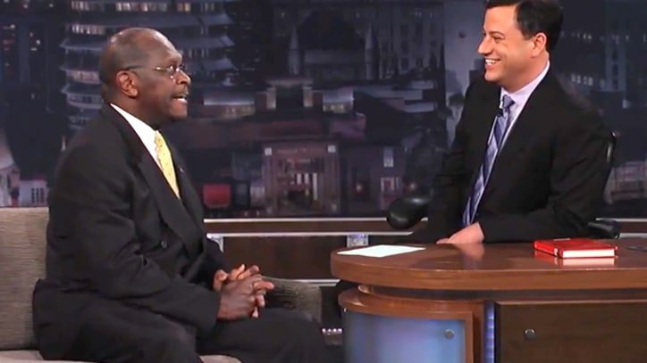 Watch Herman Cain on Jimmy Kimmel Live