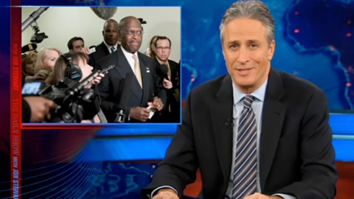 Jon Stewart on Herman Cain's Campaign Woes