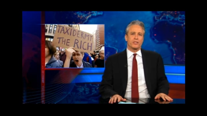 Jon Stewart on Jon Corzine's Debt Problem