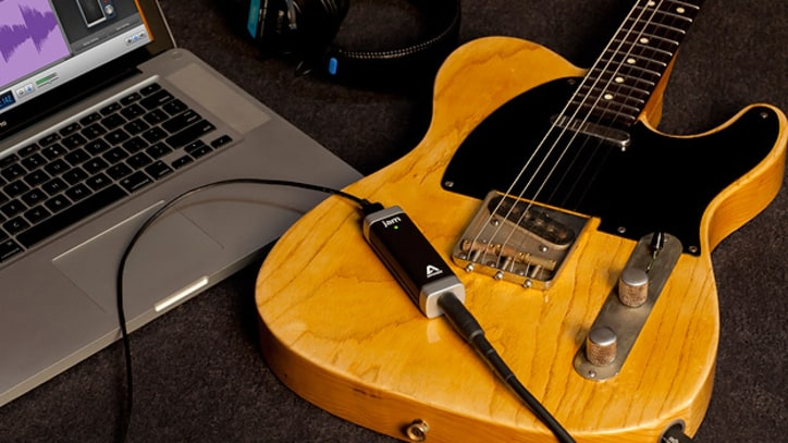 Create High-Quality Guitar Recordings on Apple Devices With Apogee's Jam Adapter