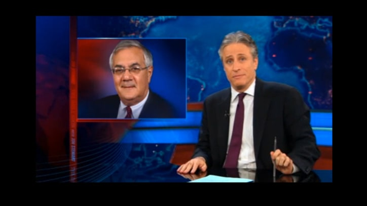 Jon Stewart on Why Republicans Will Miss Barney Frank