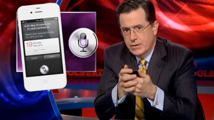 Stephen Colbert Tests Siri's Conservative Cred
