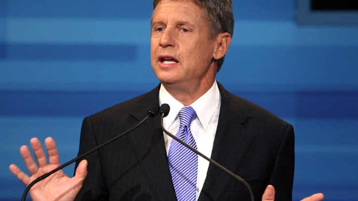 GOP Presidential Contender Gary Johnson Goes Libertarian