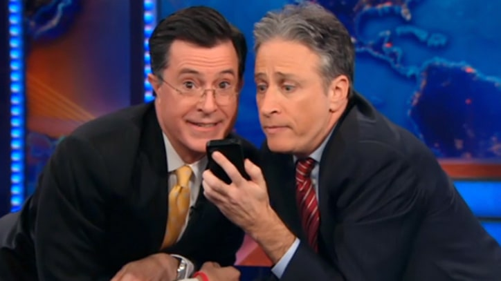 Watch Stewart and Colbert Skirt Campaign Finance Laws!
