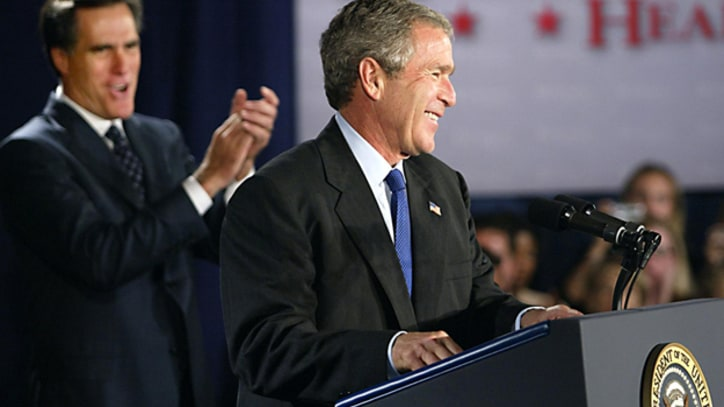When George W. Bush Endorsed Mitt Romney