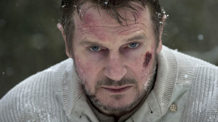 Liam Neeson Faces Off Against Wolves in 'The Grey'