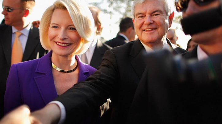 Newt Isn't Going Anywhere, Says Newt