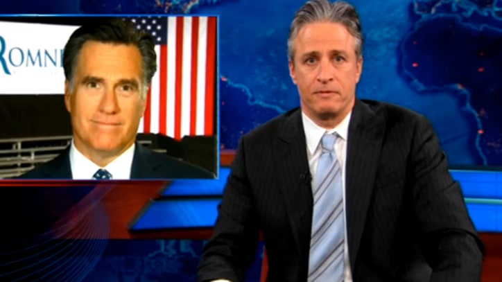 Jon Stewart on Mitt's 'Very Poor' Gaffe